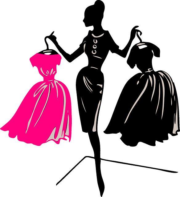 服選びに迷う女性