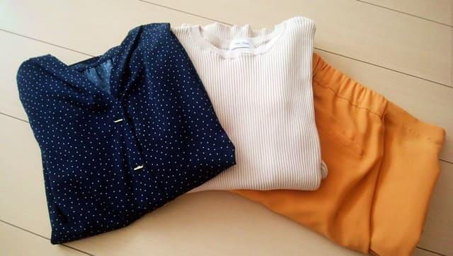 エアークローゼットブログ届いた3点の洋服