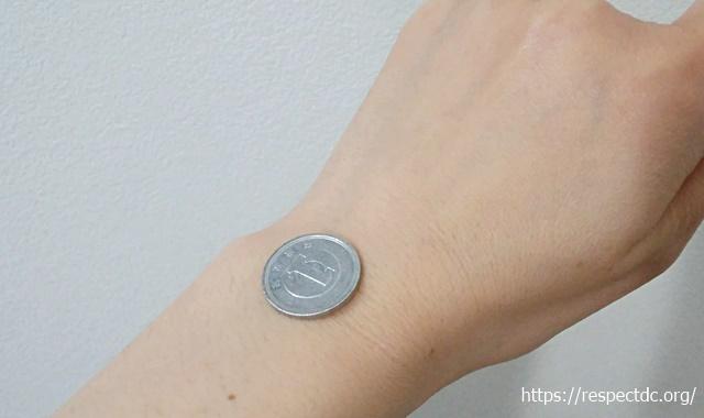 カリトケ腕時計サイズ