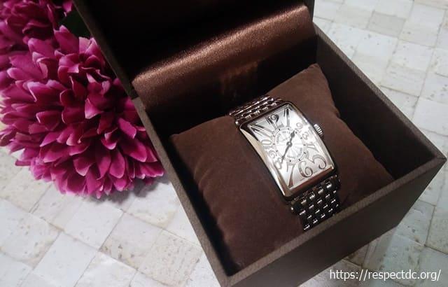 カリトケフランクミュラーの腕時計