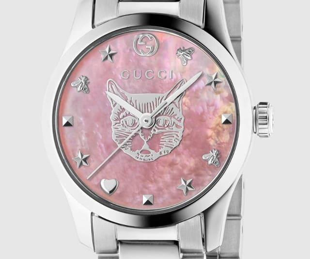 グッチGタイムレス時計