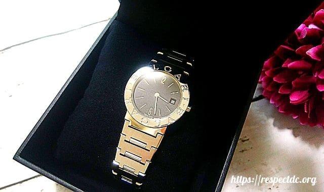 シェアルでレンタルしたブルガリの高級腕時計