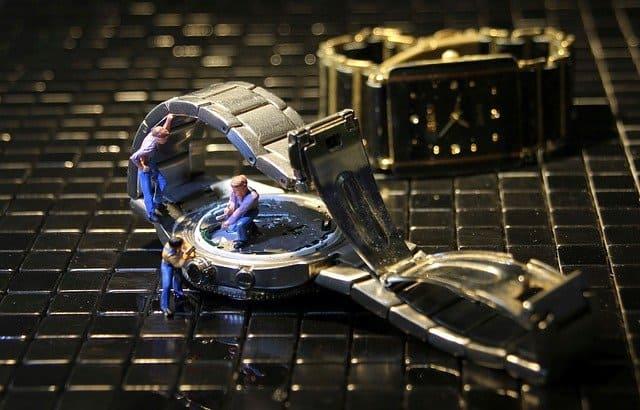 一生使える時計女性モノ修理