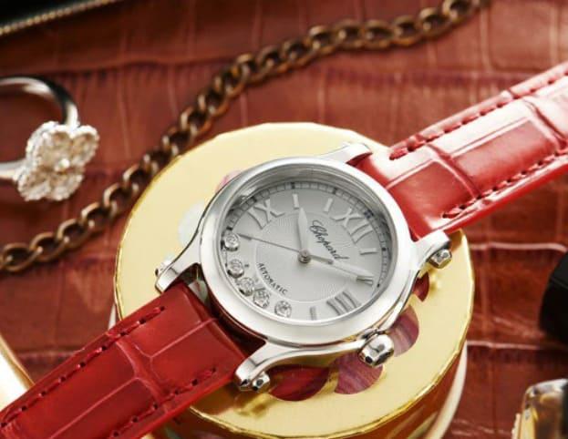 一生使える時計女性ショーメ