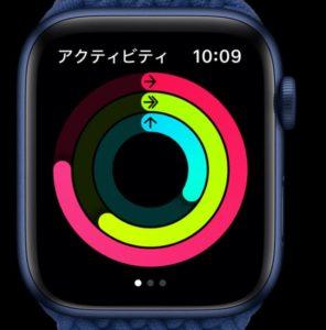 applewatchseレビューアプリアクティビティ