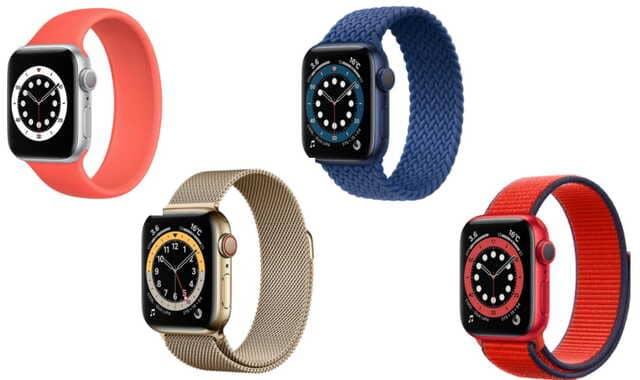 applewatch選び方ケース色アップルウォッチ