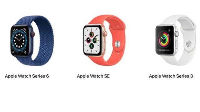 applewatch選び方6SE3比較